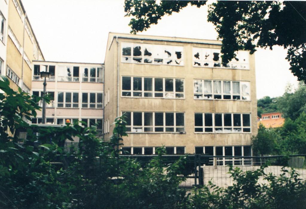 Abriss altes Schulhaus
