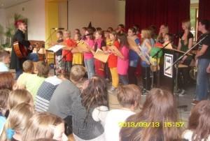 Schulfest-Chorprogramm