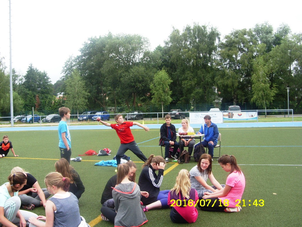 Sport Wurf