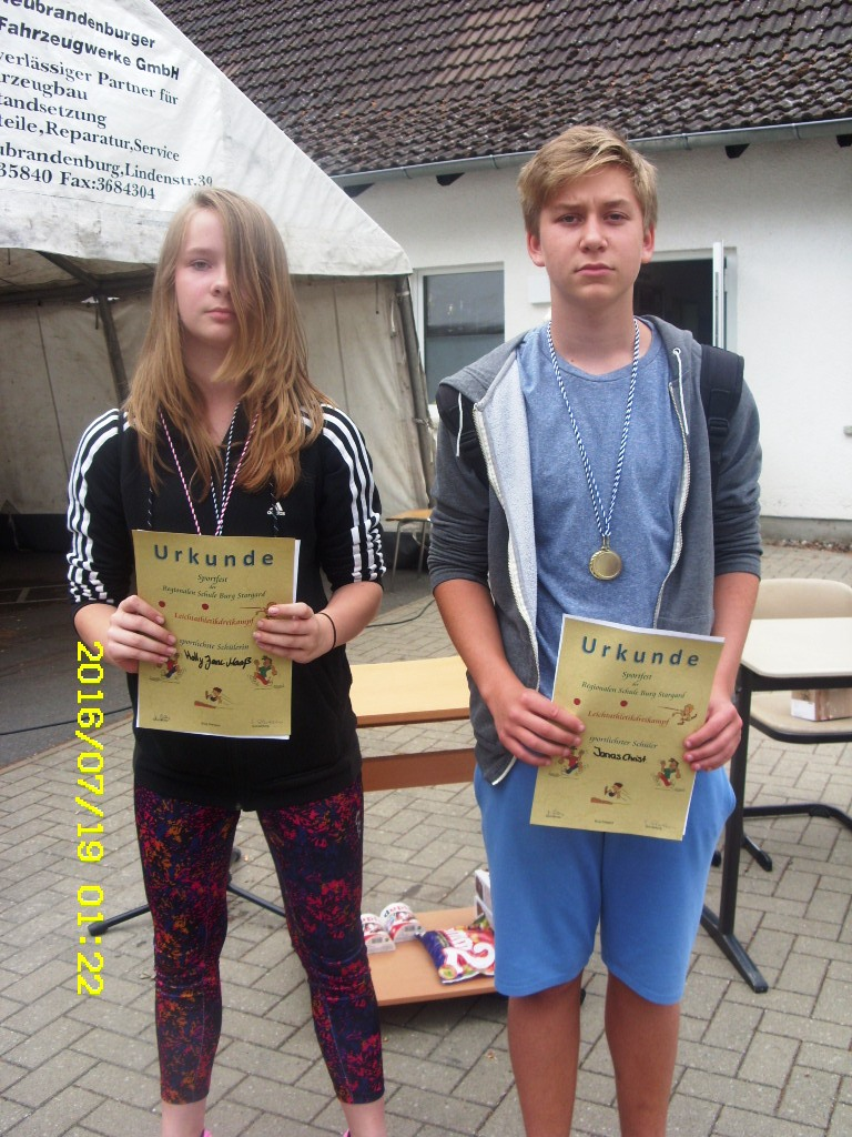 Sportlichste Schüler